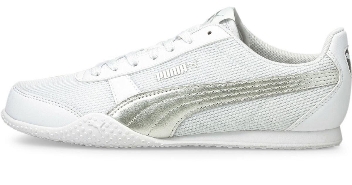 puma women's bella metallic formstrip shoes