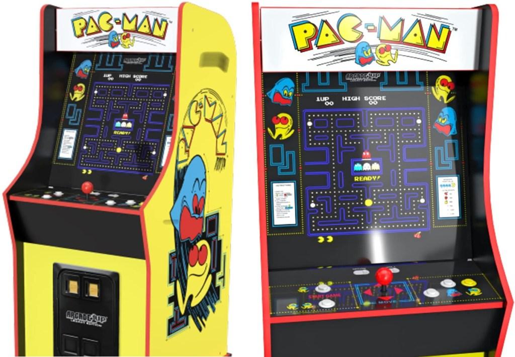 pac man home arcade game