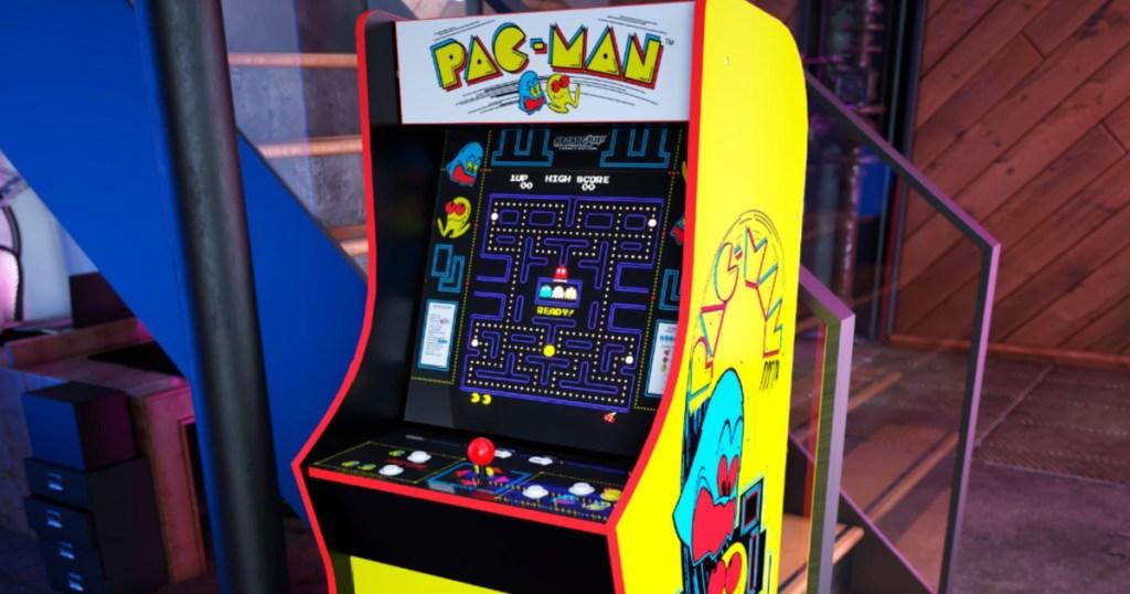 pac man home arcade