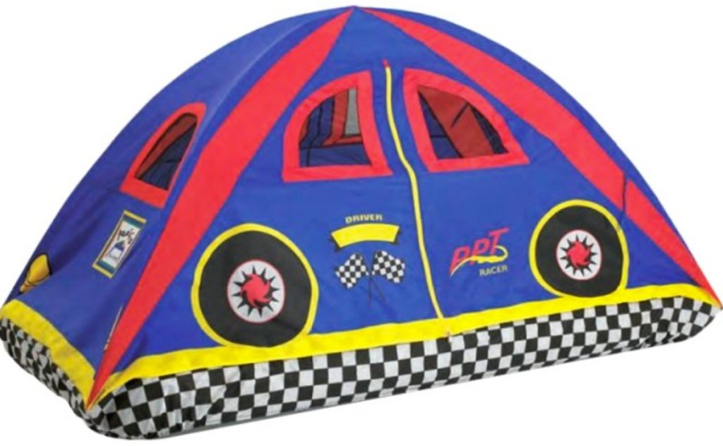 racer bed play tent