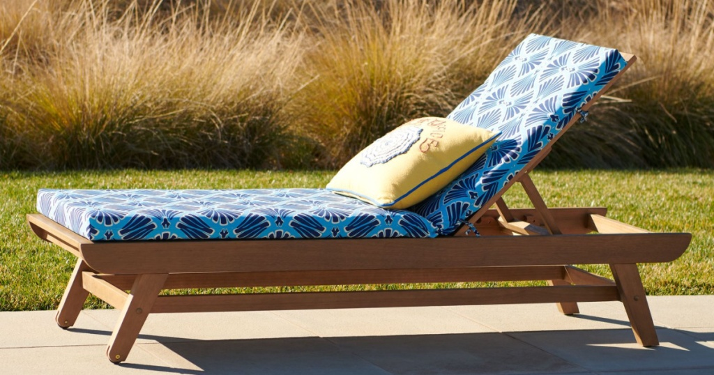 Patio Lounge Chair outdoor by pool