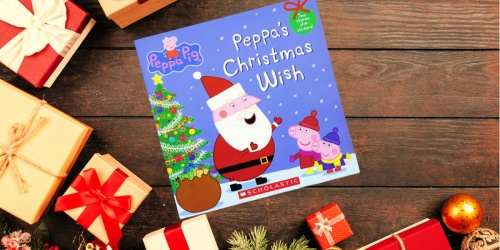 Peppa's Christmas Wish Paperback Book w/ Stickers Only $2.49 on Target.com (Regularly $5)