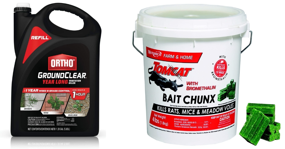 Pest & Weed Control Products on Amazon