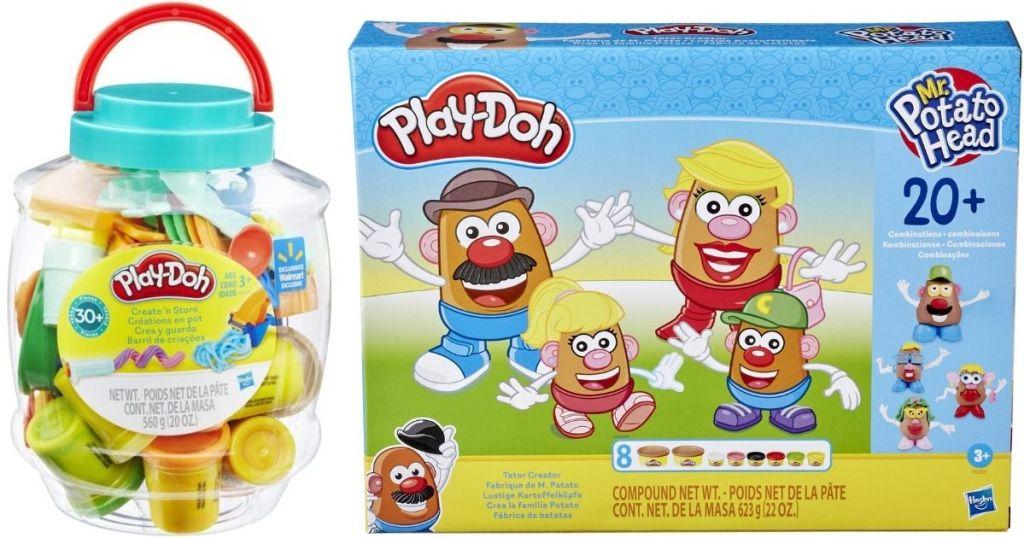 Play-Doh Bucket and Mr Potato Head Set