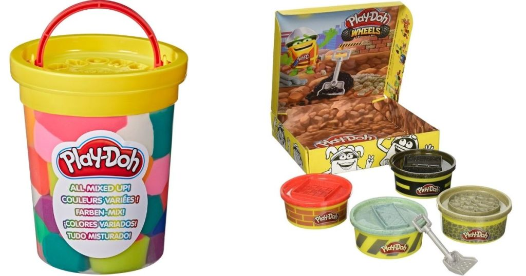Play-Doh Bucket and Wheels Set