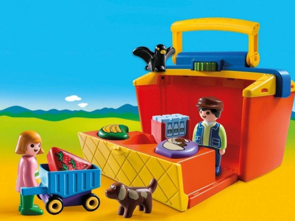 Playmobil Market Stand
