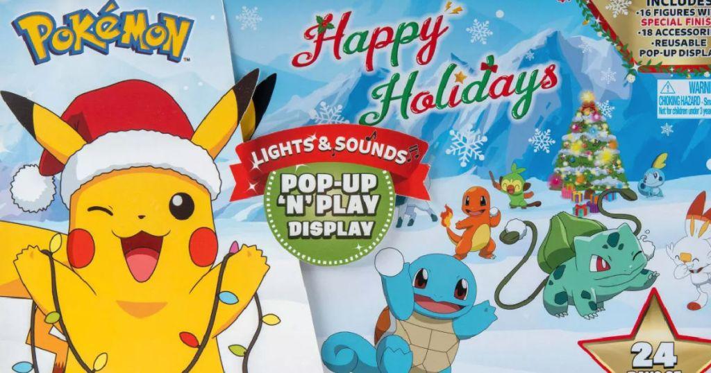 pokemon action figure advent calendar