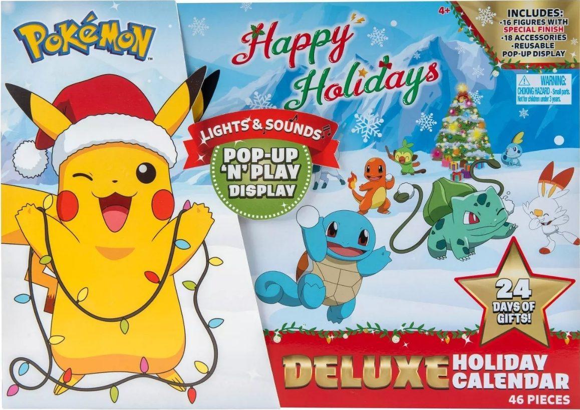 pokemon advent calendar box