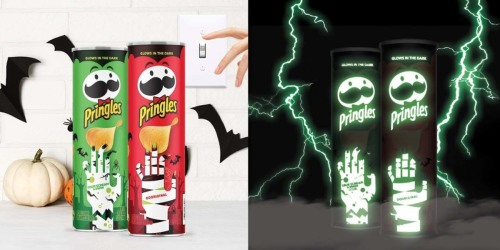 Pringles Glow-in-the-Dark Cans Now Available | Perfect for Halloween Parties