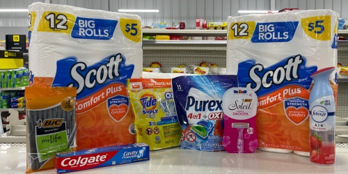 *HOT* 9 Household & Personal Care Items Only $8.30 at Dollar General (9/25 Only – Just Use Your Phone)