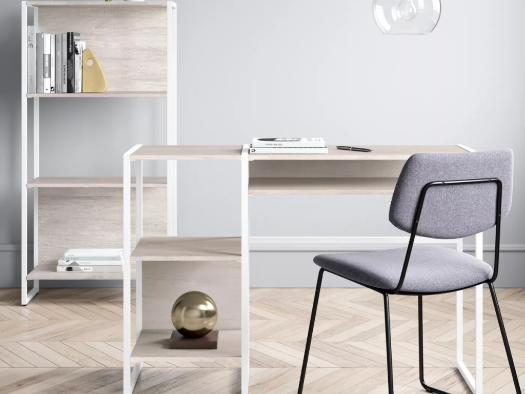 project 62 paulo wood desk with storage at target
