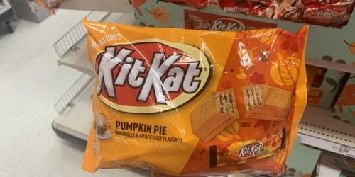 Pumpkin Pie Kit Kats Are Back Again at Walmart & Target