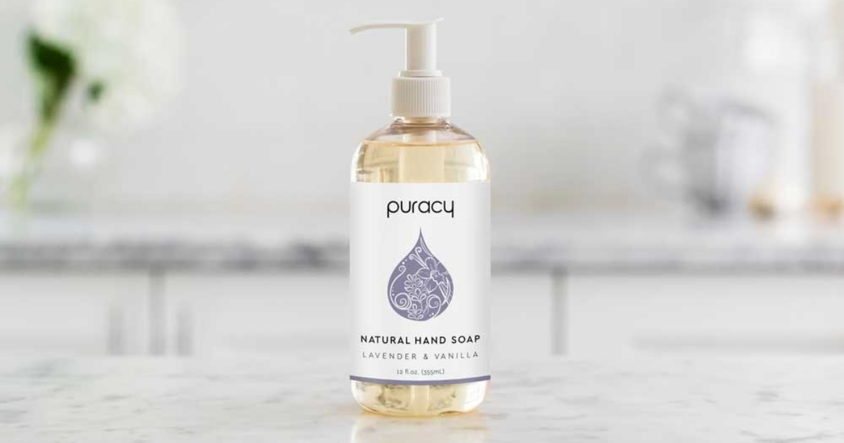 Puracy Natural Liquid Hand Soap Lavender & Vanilla