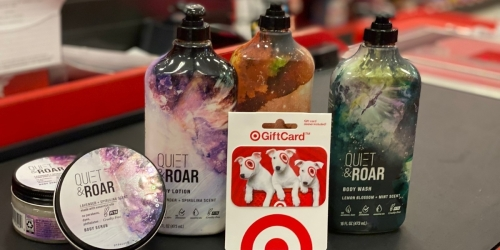 Up to 50% Off Quiet & Roar Body Care Products After Target Gift Card | Made w/ Essential Oils