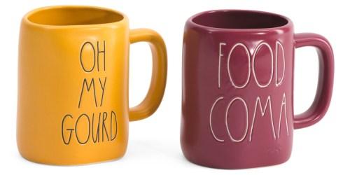 Rae Dunn Fall-Themed Coffee Mug Set Only $19.99 Shipped (Regularly $35)   Just $10 Each!