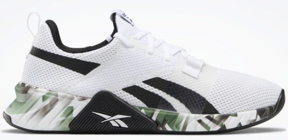 reebok men's white flashfilm training shoe