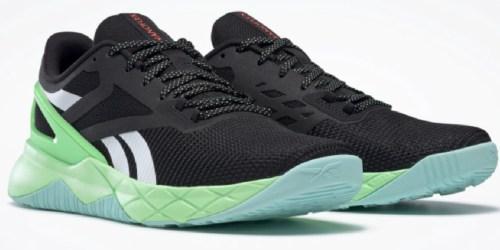 Reebok Men's Nanoflex TR Training Shoe + Active Enhanced Crew Socks Just $46.98 Shipped
