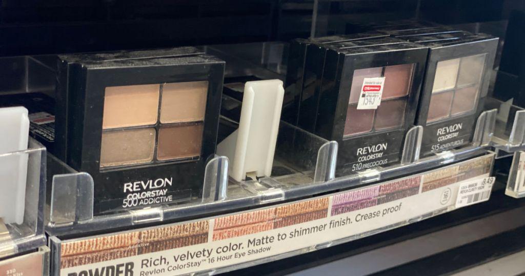 eyeshadow on shelf