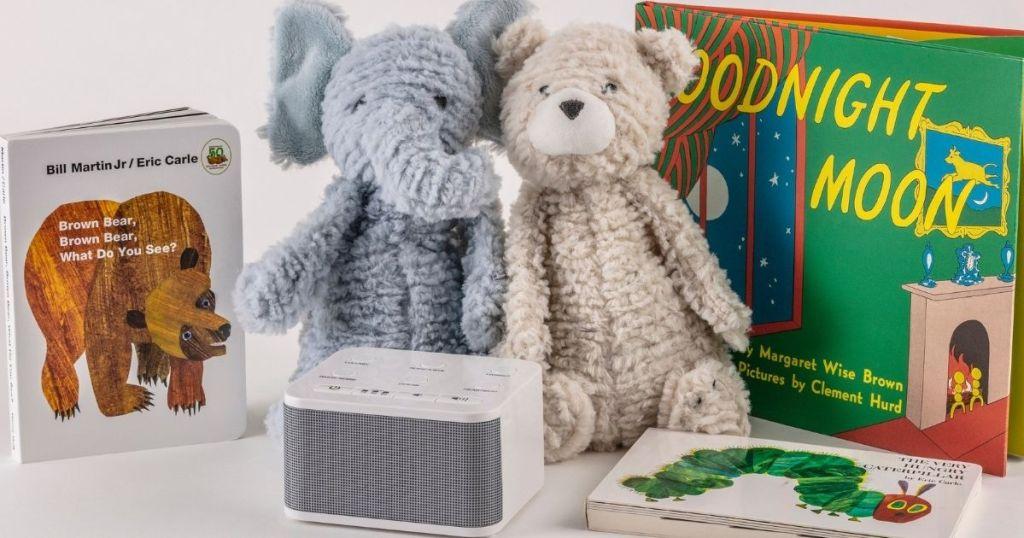 sound machine with stuffed animals