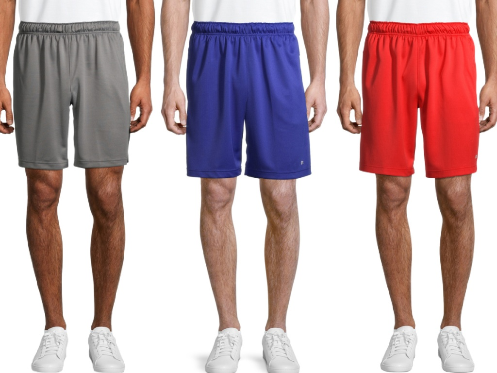 Russell Men's Core Training Active Shorts