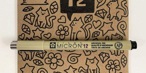 Sakura Micron Multi-Tip Pens 10-Pack Only $13.60 on Amazon (Regularly $30) | Great for Drawing or Journaling