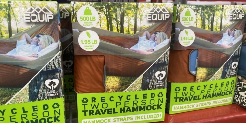 Two Person Hammock Only $12.91 at Sam's Club (Regularly $30)