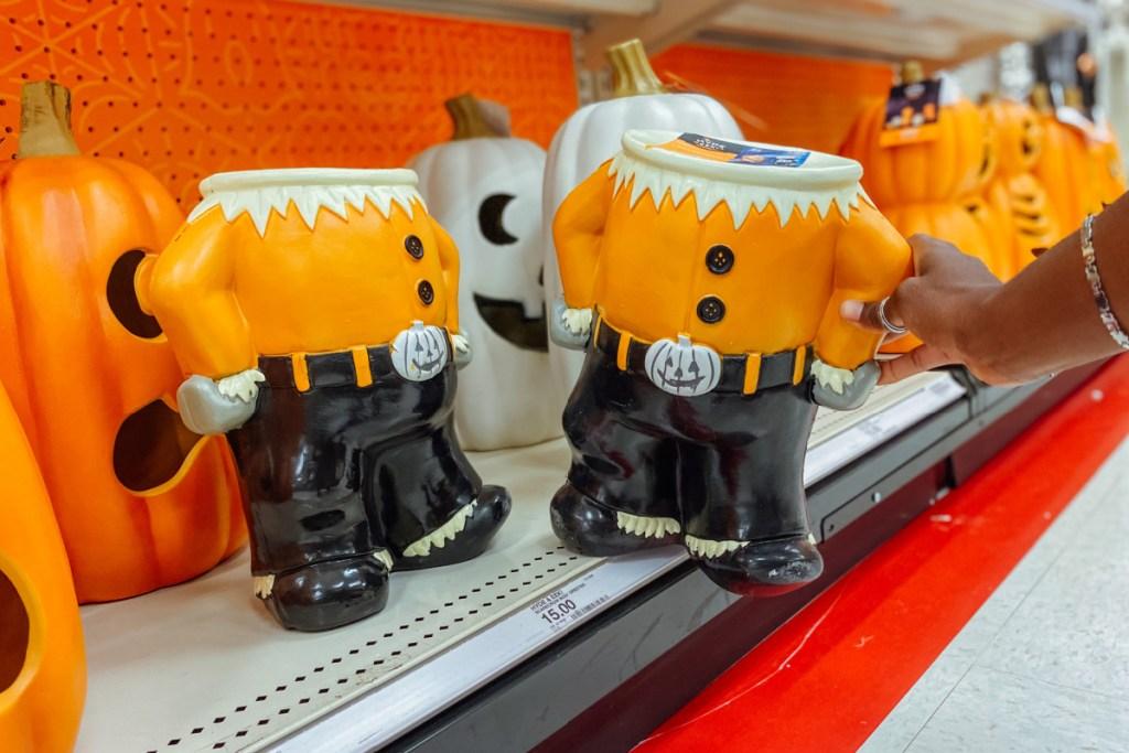 carecrow Body Greeter Halloween Decorative Prop hyde & eek