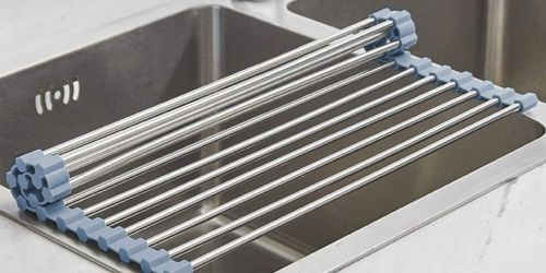 Roll Up Dish Drying Rack Only $8.90 on Amazon (Regularly $17) | Perfect for Small Kitchens