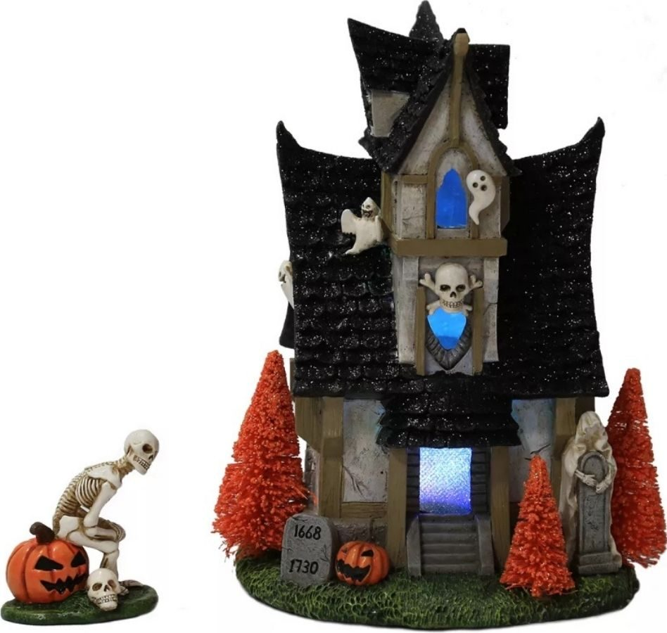 Skeleton Halloween House