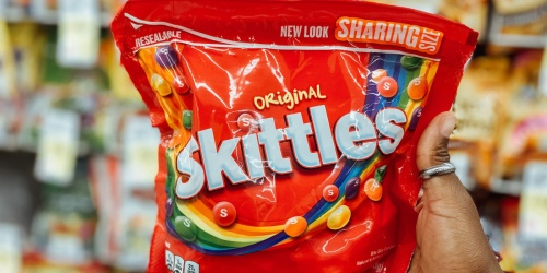 Skittles Sharing Size 15.6oz Bags Just $1.25 Each After Cash Back at Walgreens