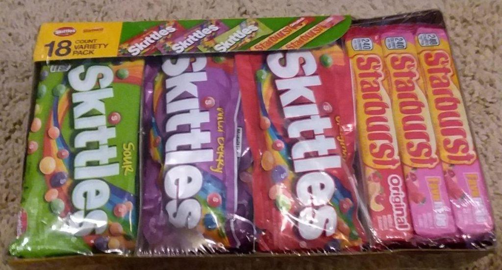 Skittles and Starburst Variety pack