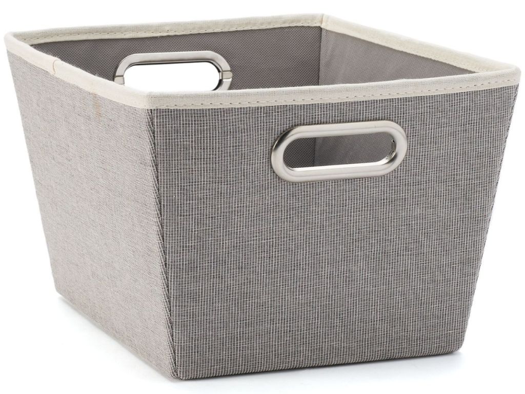 Sonoma Goods For Life Canvas Storage Tote