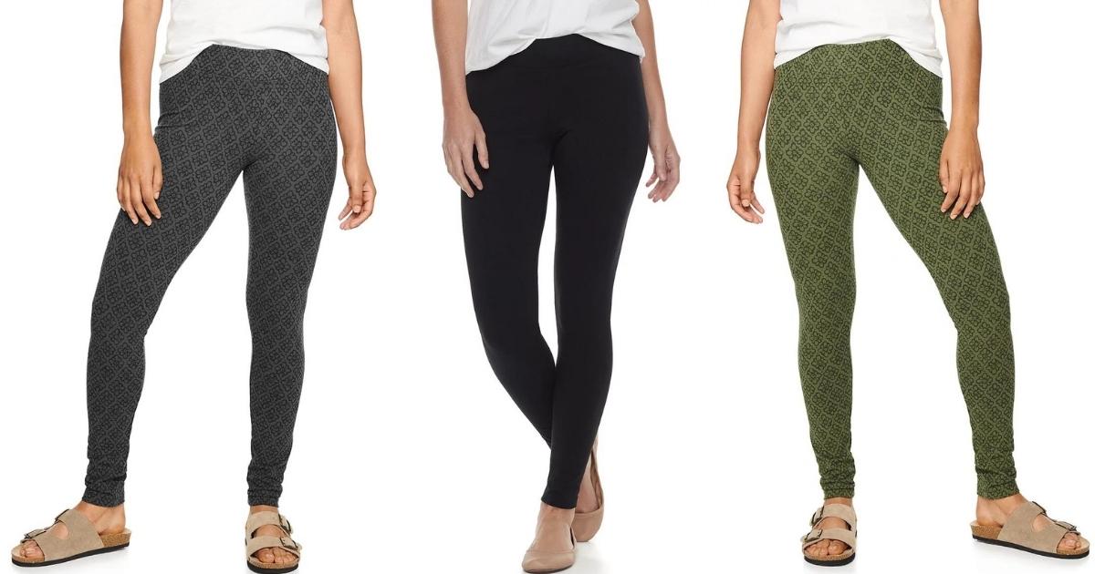 Sonoma Goods for Life Women's Leggings