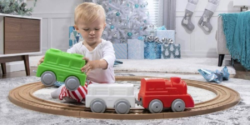 Step2 My First Holiday Train & Track Set Just $34.99 on Zulily.com (Regularly $60) | Great Gift Idea!