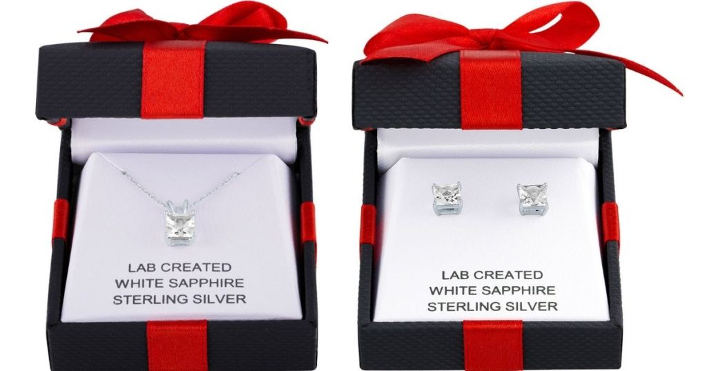 Sterling Silver Jewelry in gift boxes