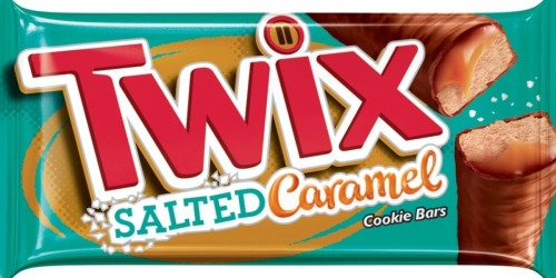 TWIX Salted Caramel Cookie Bars Launching This Month