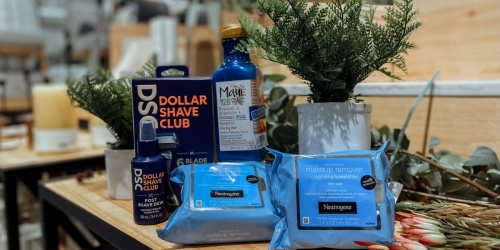 $10 Target Gift Card With $40 Beauty Purchase | $41 Worth of Neutrogena, Dollar Shave Club, & More Only $20