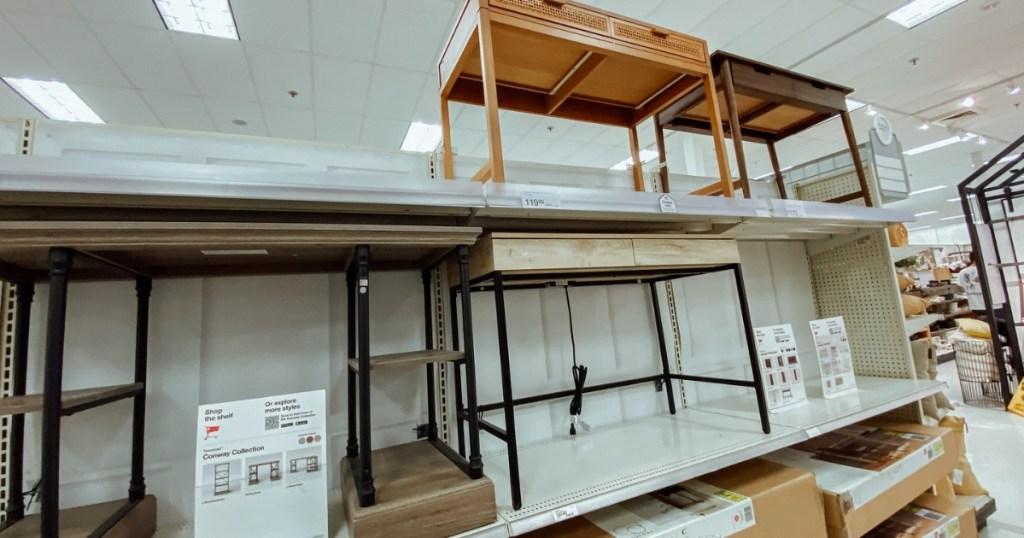 target desks in store