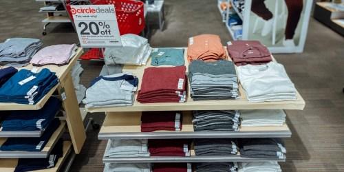 20% Off Men's Tops & Denim on Target.com | In-Store & Online