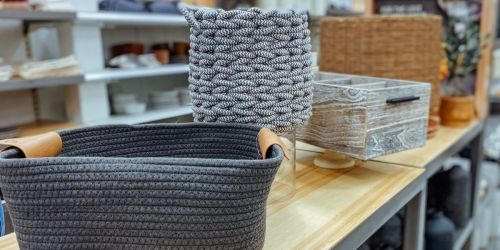 40% Off Storage Baskets & Totes at Target | Perfect for Organizing Your Home