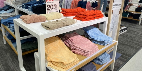 20% Off Women's Clothing at Target   $2.40 Tops, $12 Sweatshirts, $15.99 Jeans &  More
