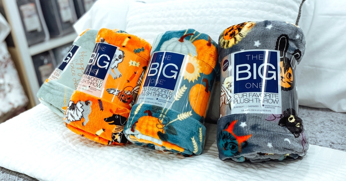 The Big One Plush Throws at Kohl's