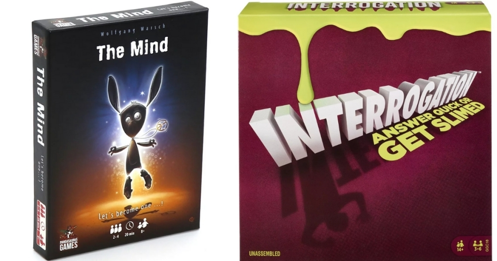 the mind and interrogation games from kohl's