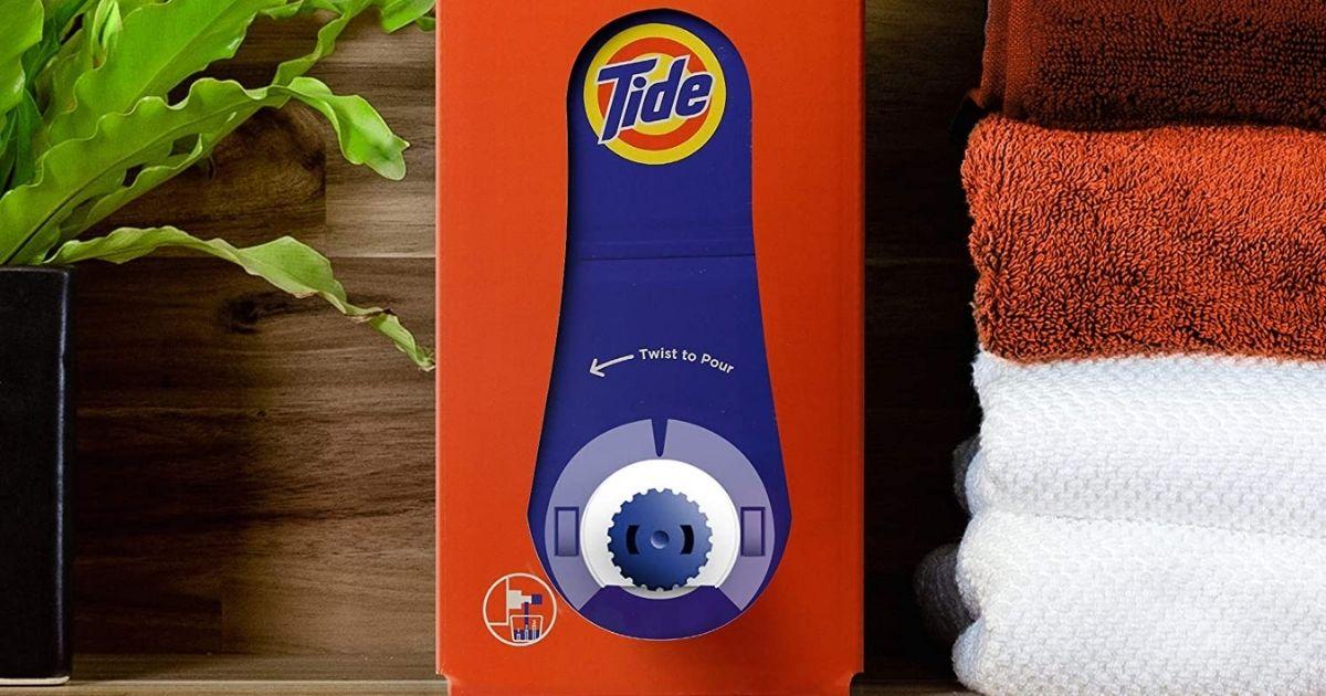 Tide Liquid Laundry Detergent Eco-Box