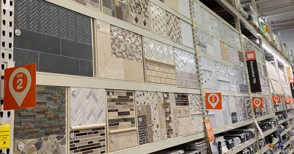 Tile at the Home Depot