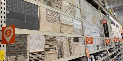 Up to 25% Off Patterned and Mosaic Wall Tile on HomeDepot.com + Free Shipping