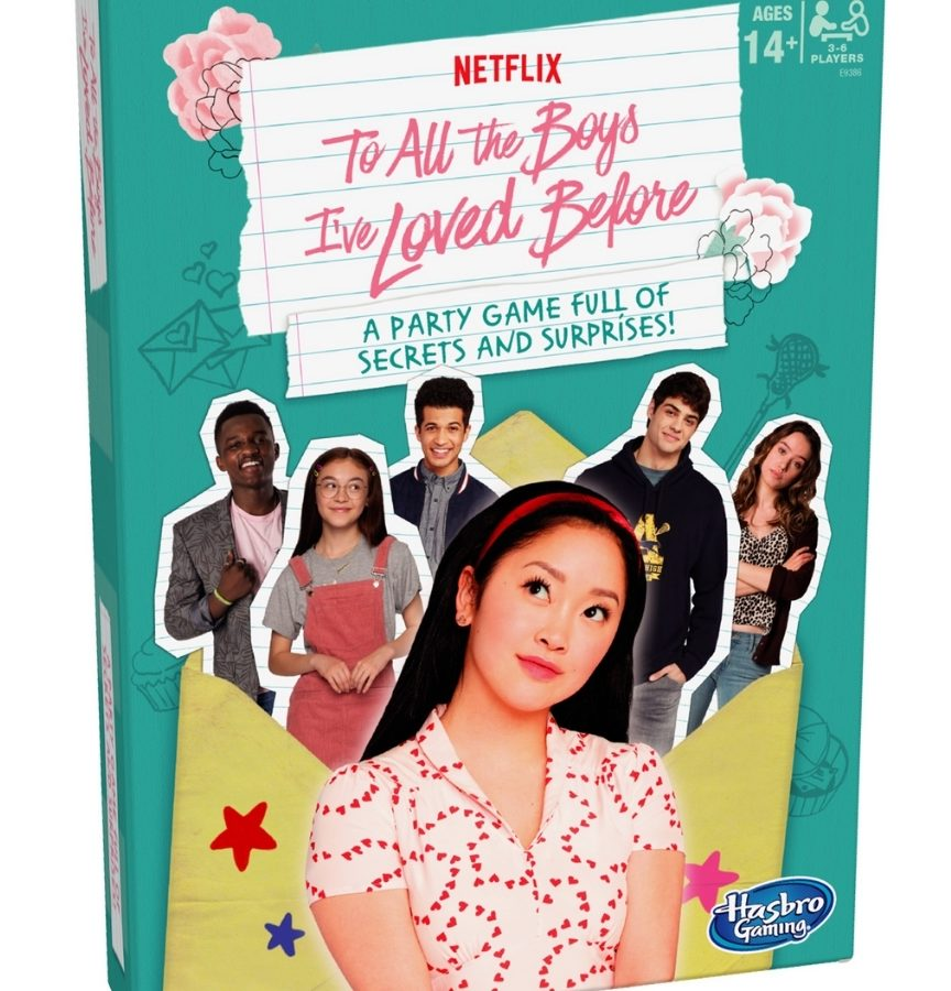 to all the boys i've loved before party game from walmart
