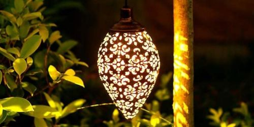 Decorative Hanging Solar Lights from $14 Shipped on Amazon   Awesome Reviews