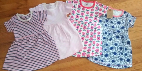 Touched by Nature Baby & Toddler Dresses 2-Pack from $5.38 on Amazon (Regularly $17) | Made With Organic Cotton