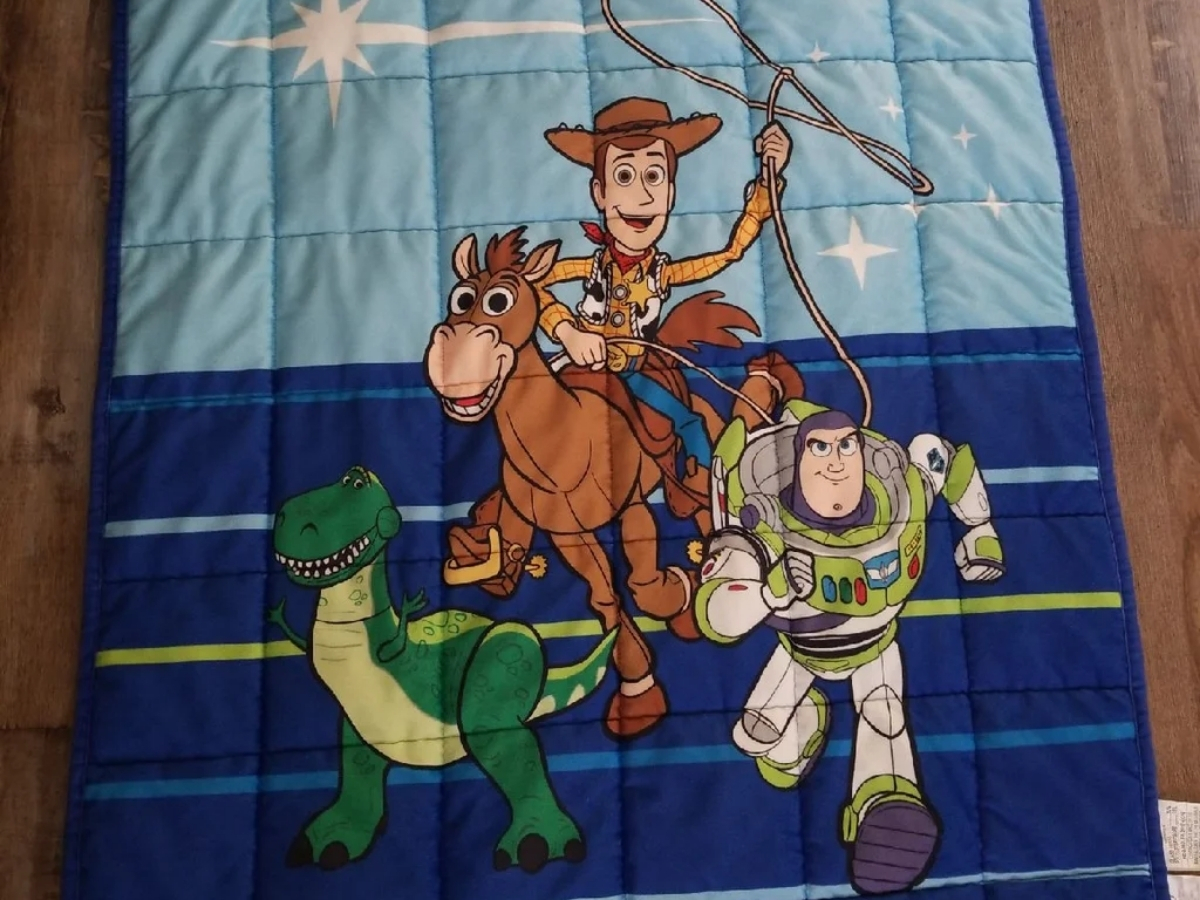 toy story 4 weighted blanket for kids